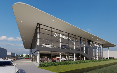 Mercedes Garage Van Mossel in Rotterdam